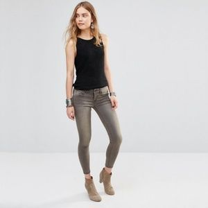 Free People Stretch Ankle Skinny in Murray Wash